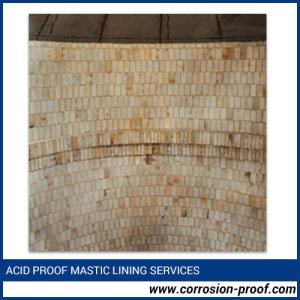 Acid Proof Mastic Lining Services