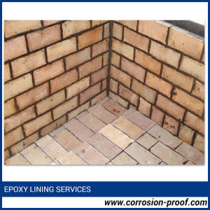 Epoxy bricks Lining Services