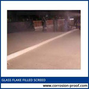 glass flake filled screed