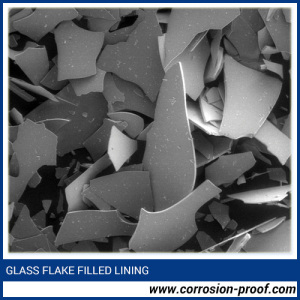 Glass Flake Filled Lining