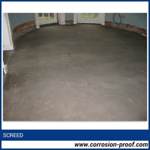 Glass Flake Filled Screed floors