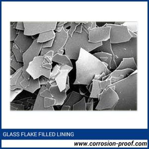 Glass flake coating