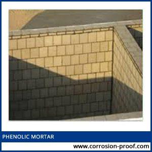Phenolic mortar manufacturer