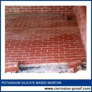 potassium silicate based mortar