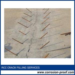 RCC Crack Filling