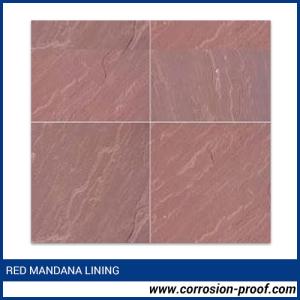 Red Mandana Lining
