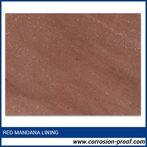 Red Mandana Stone Lining