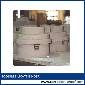 sodium silicate binder