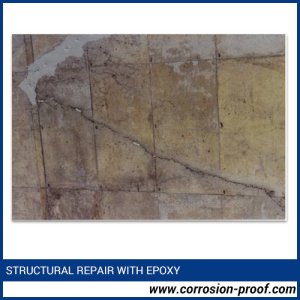 Structural Repair With bricks flooring