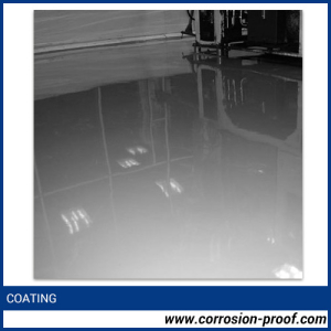 glass flake filled epoxy flooring coating