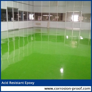 acid resistant epoxy paint