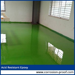 acid resistant epoxy grout