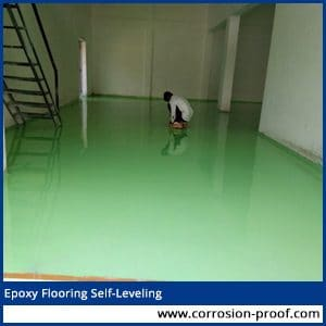epoxy flooring self leveling