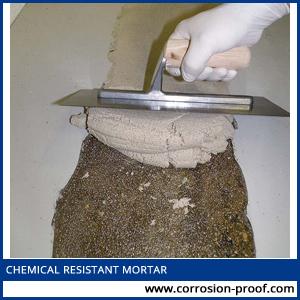 chemical resistant mortar
