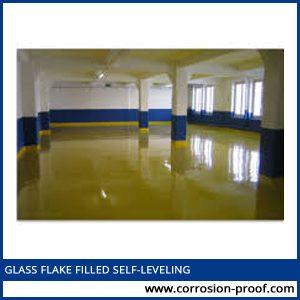 glass flake filled
