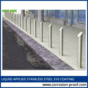 liquid applied stainless steel