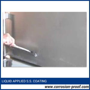 Liquid Applied Stainless Steel Coating