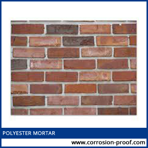 polyester mortar