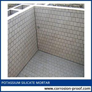 potassium silicate mortar