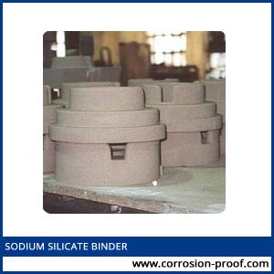 sodium silicate binder