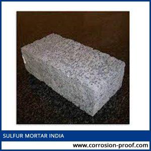sulfur mortar india