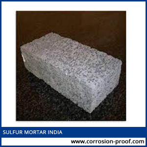 sulfur mortar india