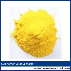 sulphur mortar