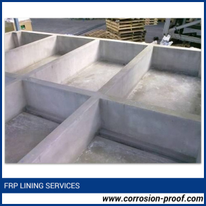 Tank FRP Lining Services
