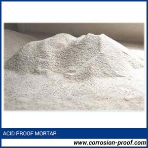 acid proof mortar India