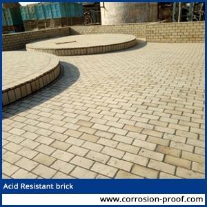 Acid Resistant Tiles Brick
