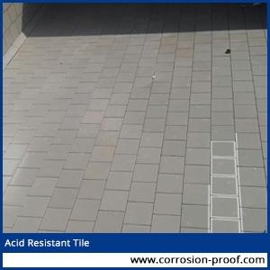 Acid Resistant Tiles Battery Room