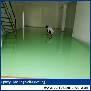 epoxy flooring self leveling manufacturer
